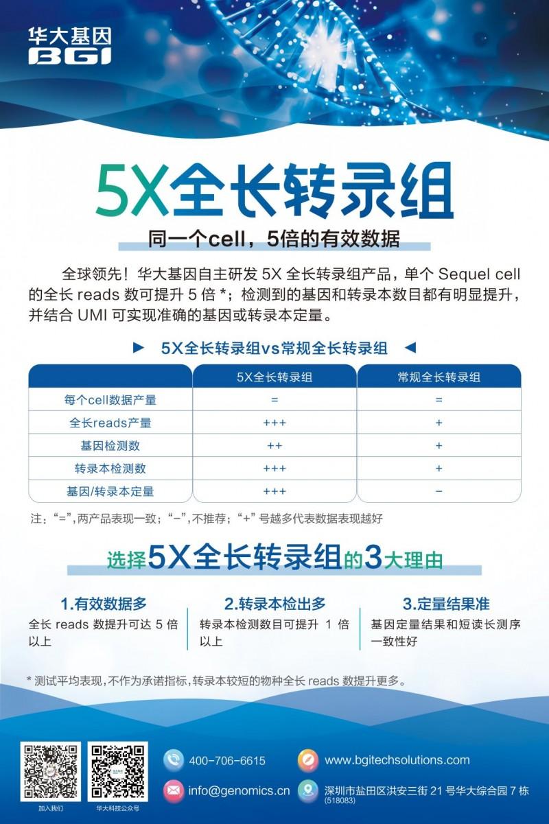 海报-5X全长转录组 - 副本